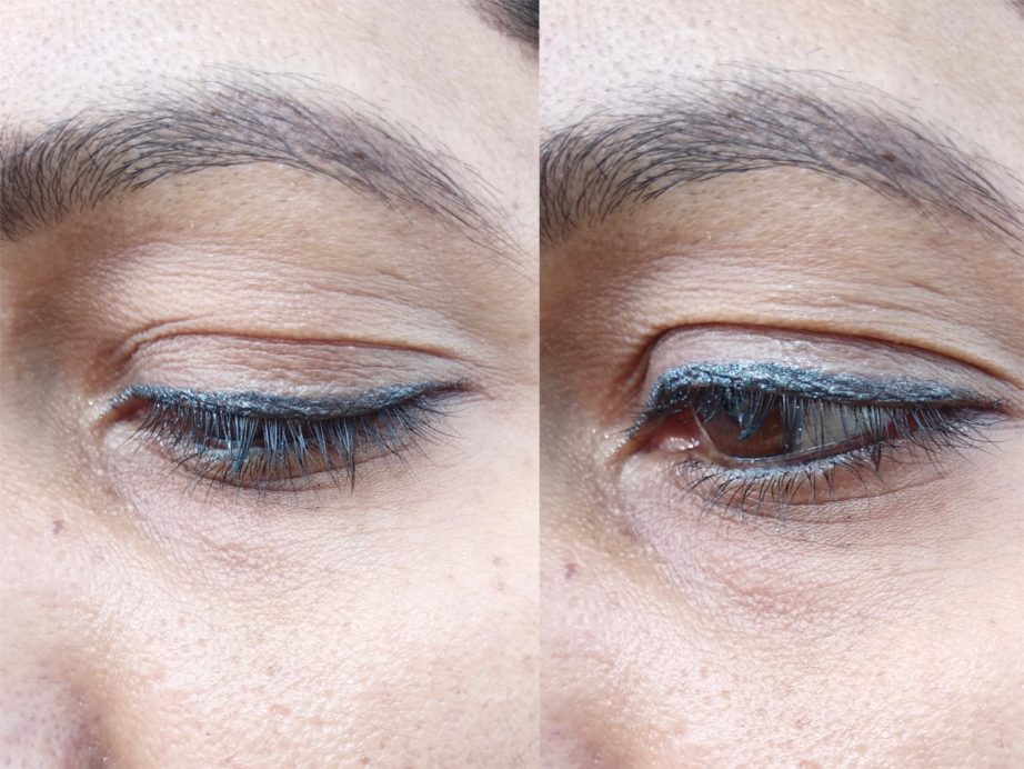 Colorbar Magical Grey Magical Double Duty Eyeliner And Eyeshadow Review, Swatches mbf look
