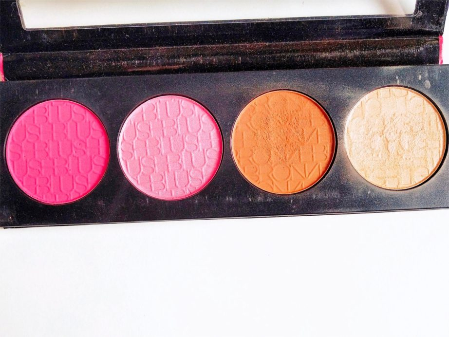 L.A. Girl Glam Beauty Brick Blush Collection Review, Swatches MBF