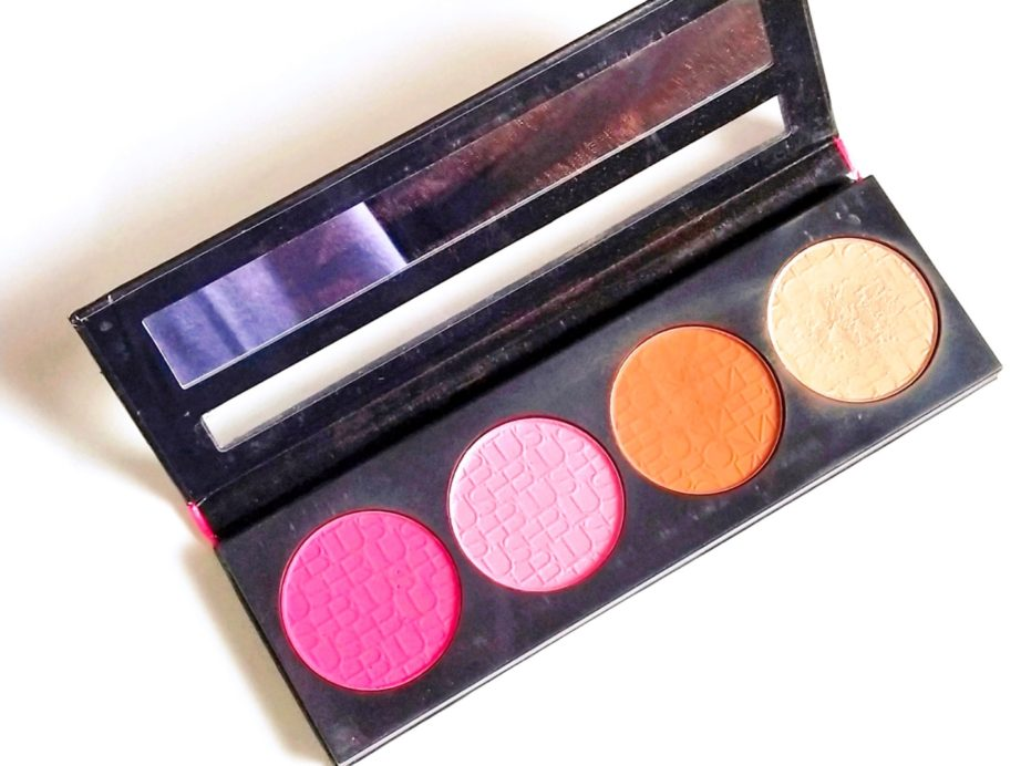 L.A. Girl Glam Beauty Brick Blush Collection Review, Swatches front