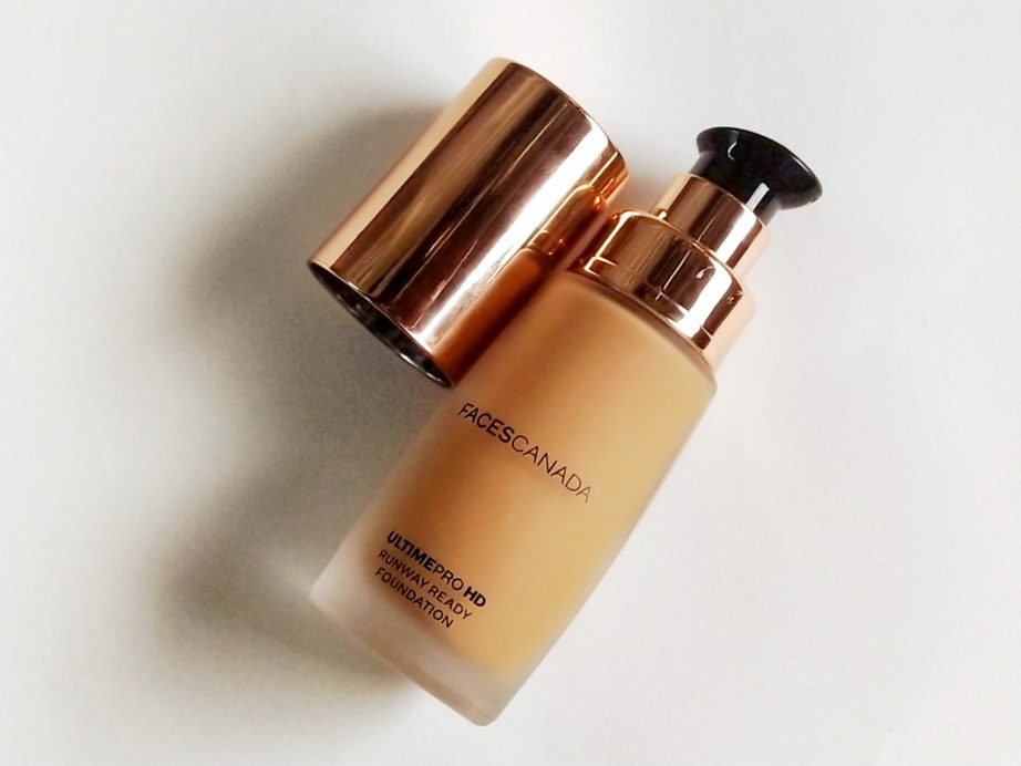 Faces Ultime Pro HD Runway Ready Foundation Review