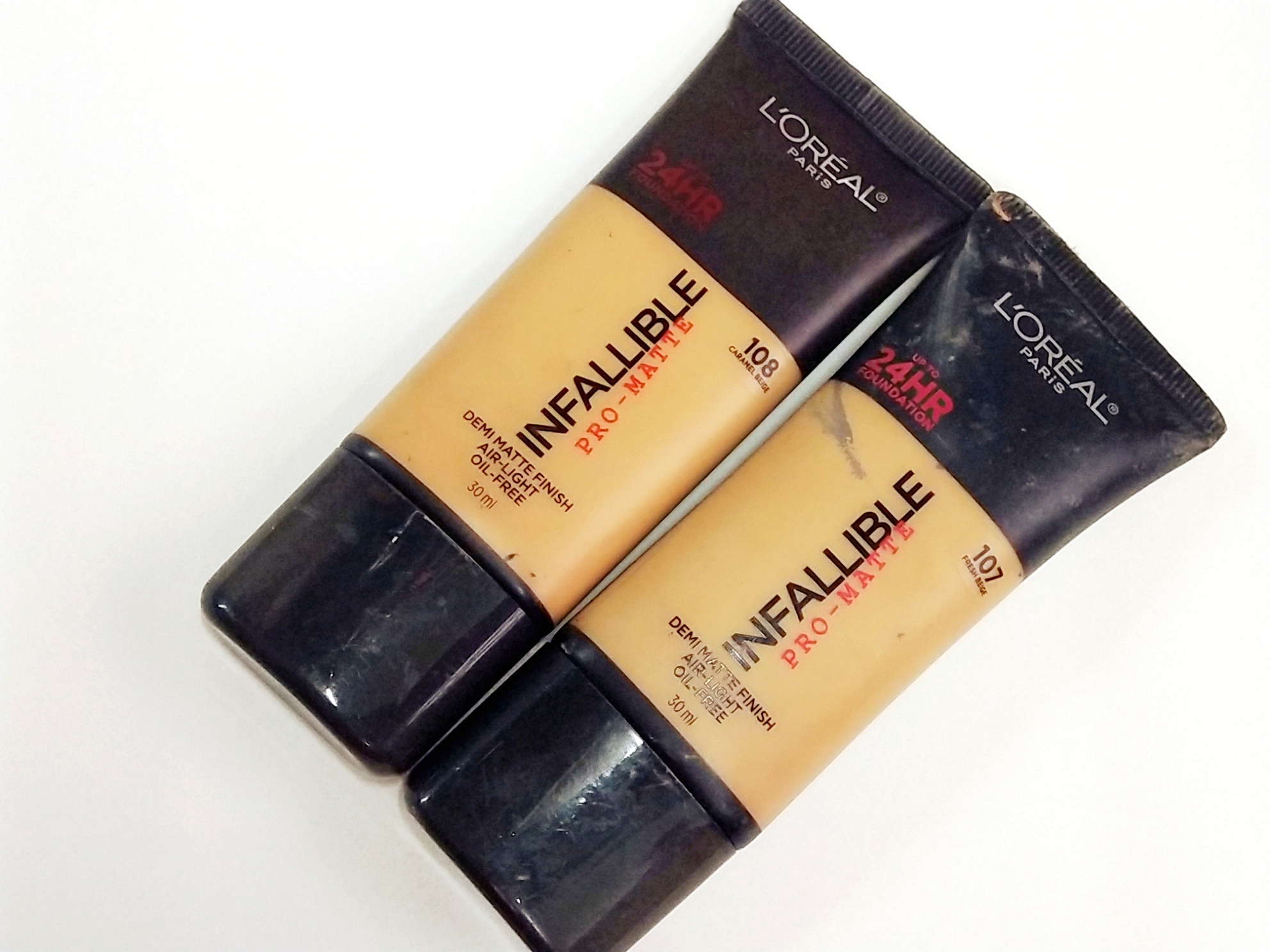 L Oreal Infallible Pro Matte Foundation Review Swatches