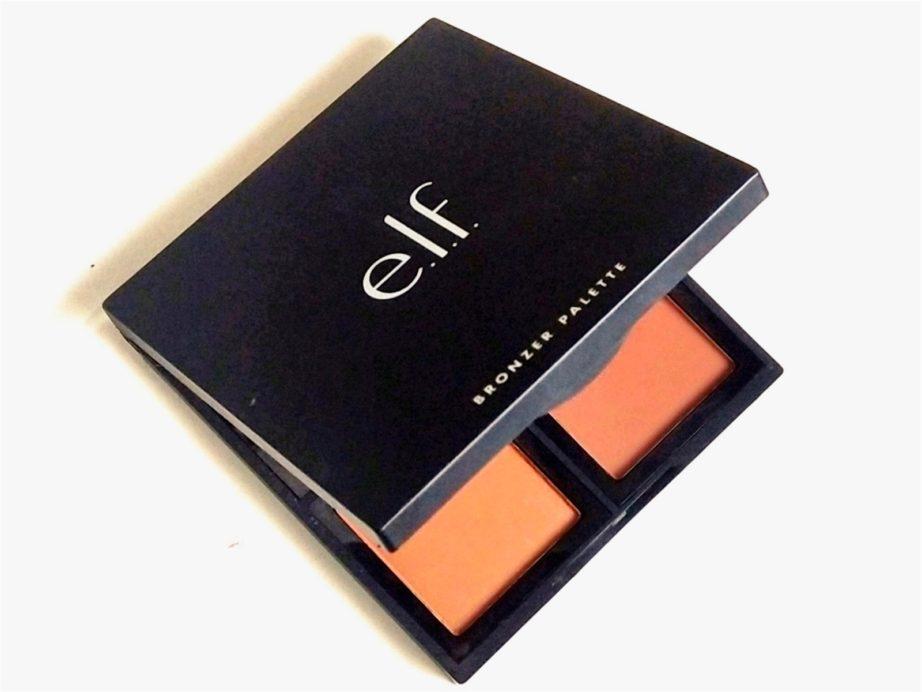 ELF Bronzer Palette Deep Bronzer Review, Swatches