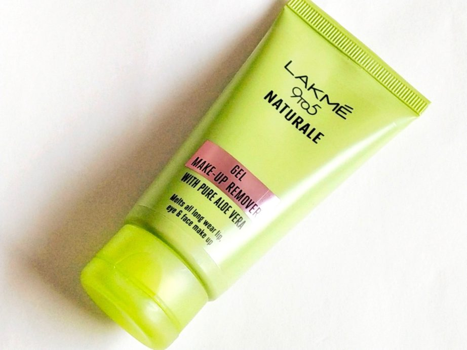 Lakme 9 To 5 Naturale Gel Makeup Remover Review, Demo