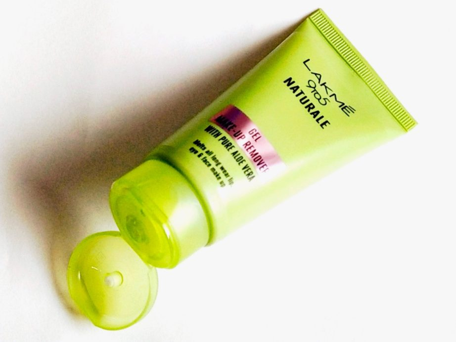 Lakme 9 To 5 Naturale Gel Makeup Remover Review, Demo open