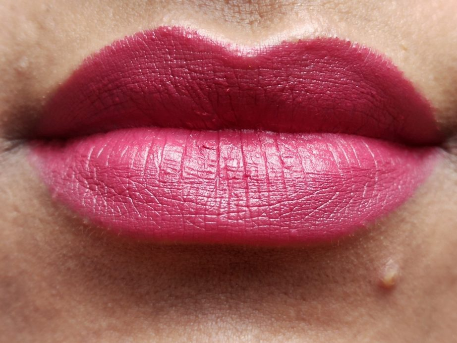 NYX Matte Lipstick Merlot MLS16 Review, Swatches On Lips