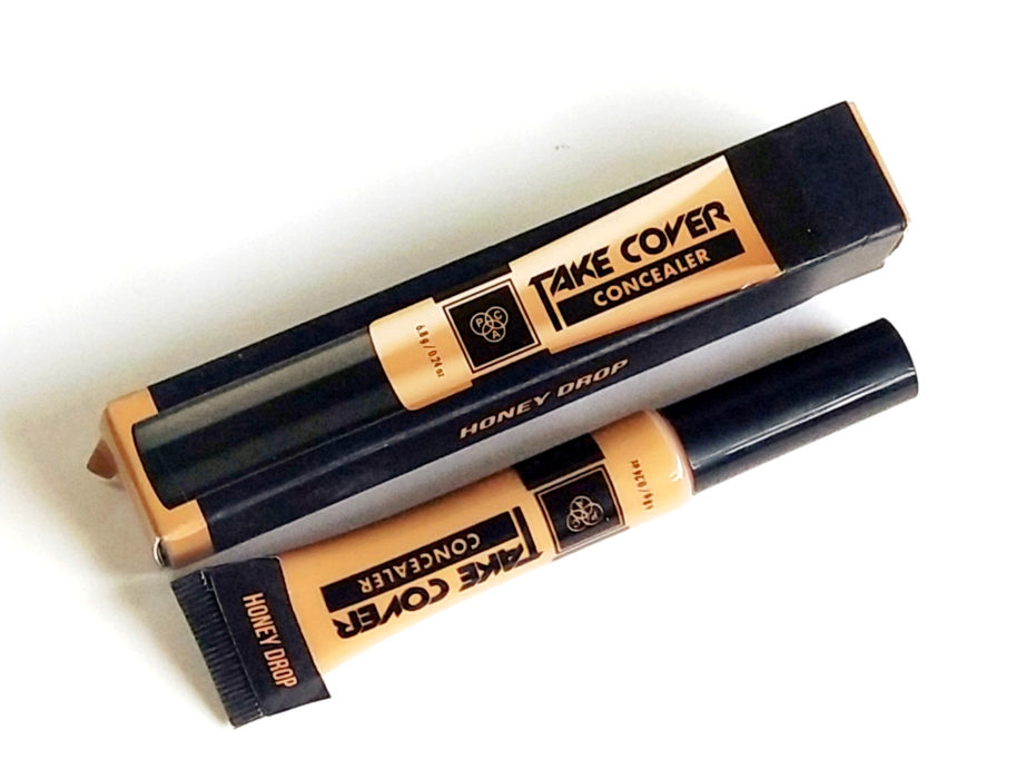 PAC Take Cover Concealer Review, Swatches