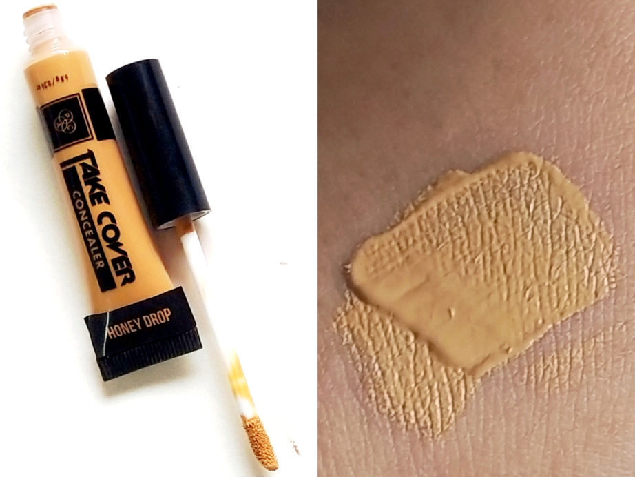 PAC Take Cover Concealer Review, Swatches skin