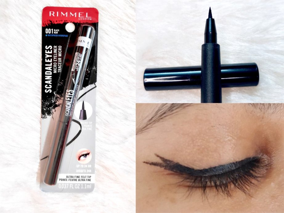 Rimmel Scandaleyes Micro Eyeliner Review, Swatches